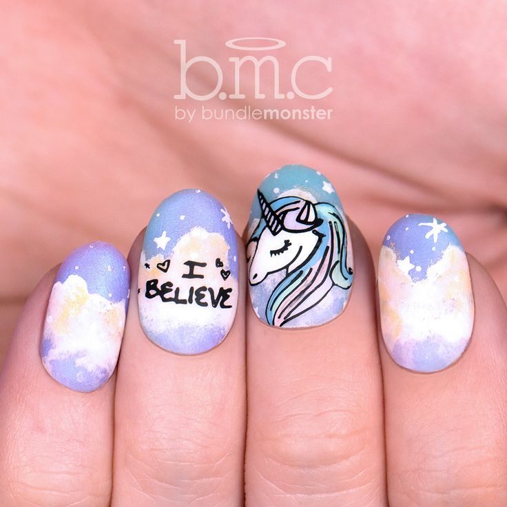 It takes a unicorn to make our day. Repost if you need one, too! And click the photo to shop Teenage Dream nail stamping plates. #unicorn #unicorns #teenagedream #nailart #nailstamping #naildesign