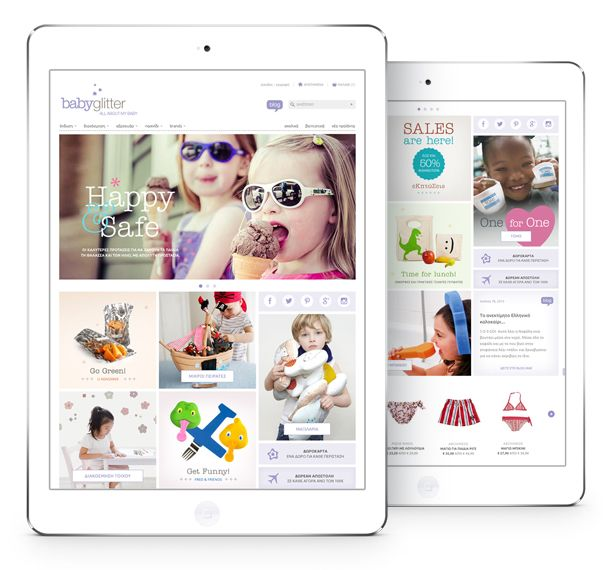 Babyglitter is an exclusively online store with clothing and furnishings, accessories and toys for children up to 5 years old.
