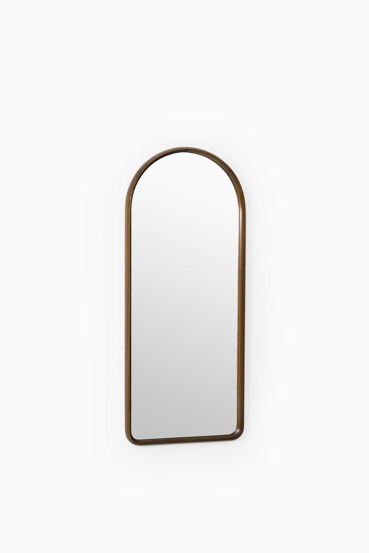 Teak table and mirror by Glas & Trä Hovmantorp at Studio Schalling