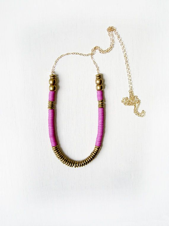 Kim Dulaney necklace. Gorgeous lilac & bronze.