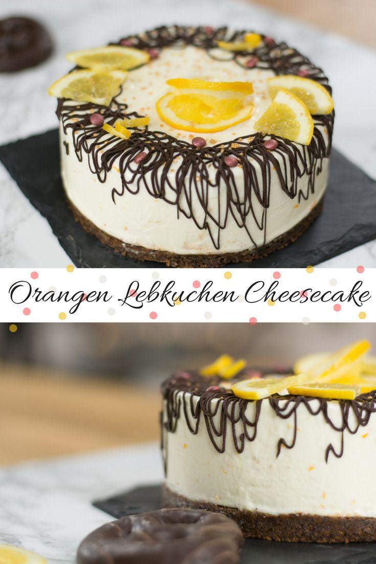 Dieses Lebkuchen Rezept mit Orangencreme ist absolut lecker und herrlich weihnachtlich. Noch dazu schmeckt der Cheesecake wirklich großartig. via @heissehimbeeren