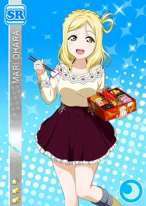 Chara : Mari Ohara Love Live!