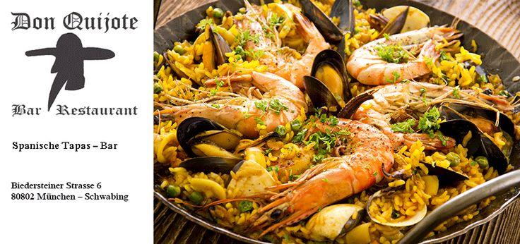 Spanisches Restaurant | Tapas Bar | München Schwabing | Don Quijote