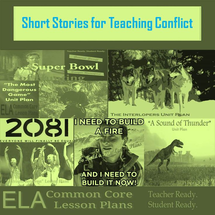 Teaching Conflict in Literature: A List of Short Stories for Teaching Conflict