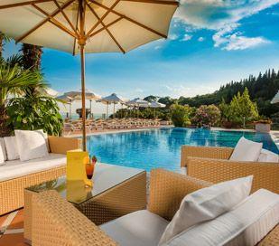 Luxus-Ferienwohnung mit Seeblick am Gardasee | Costermano