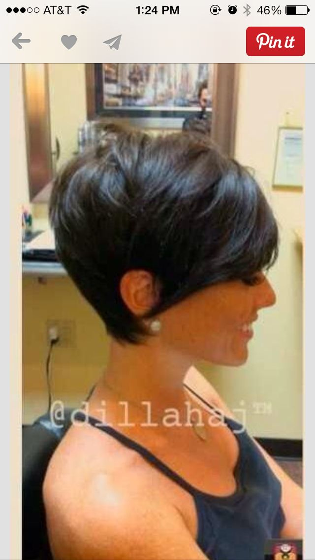 The pixie cut Jolie showed me is to die for