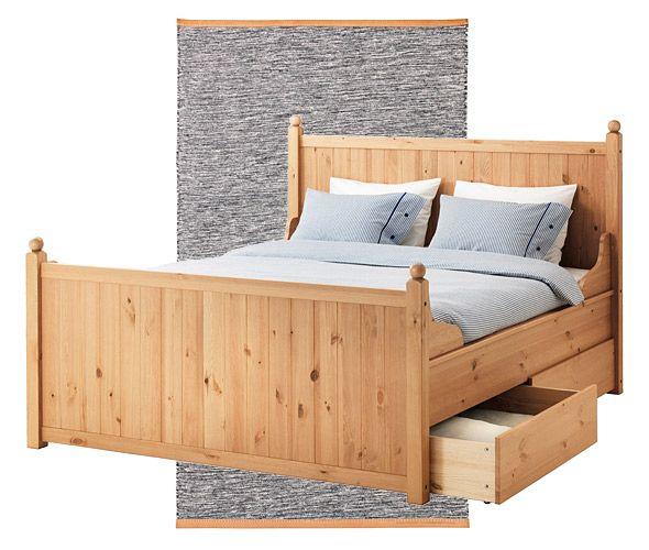 13 migliori immagini bedroom su pinterest idee per la - Stanza da letto ikea ...