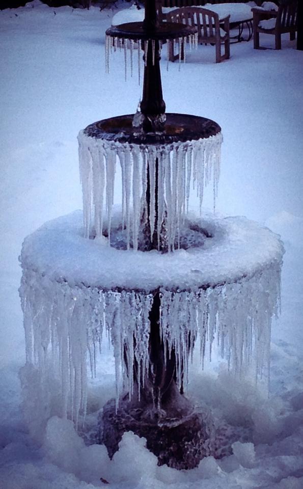 10 best frozen fountain images on Pinterest | Fountain ...