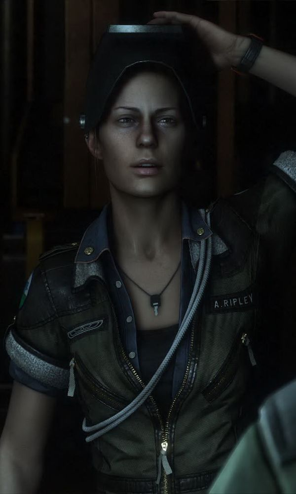 alien isolation amanda ripley tall
