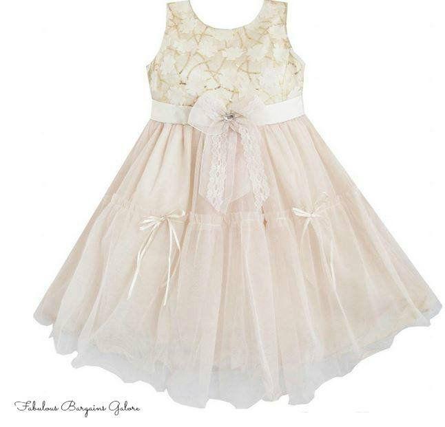 Gorgeous Wedding Multi-Layered Princess Fower Girl Dress