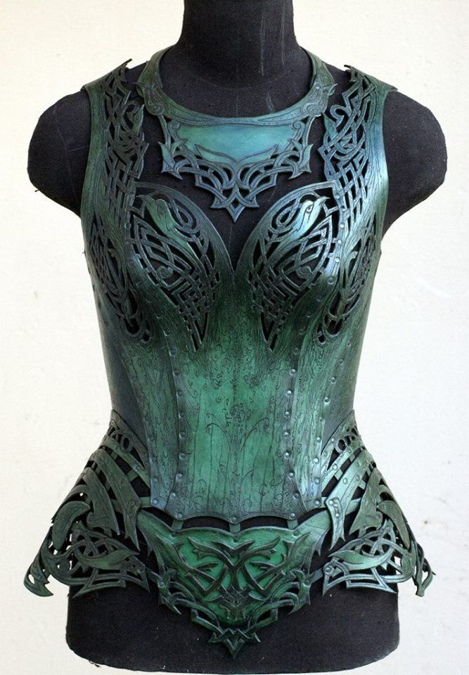 """Corset """"Malachite"""". Made by Andrew Kanounov, Moscow, Russia.     Steampunk Tendencies Official Gr..."""