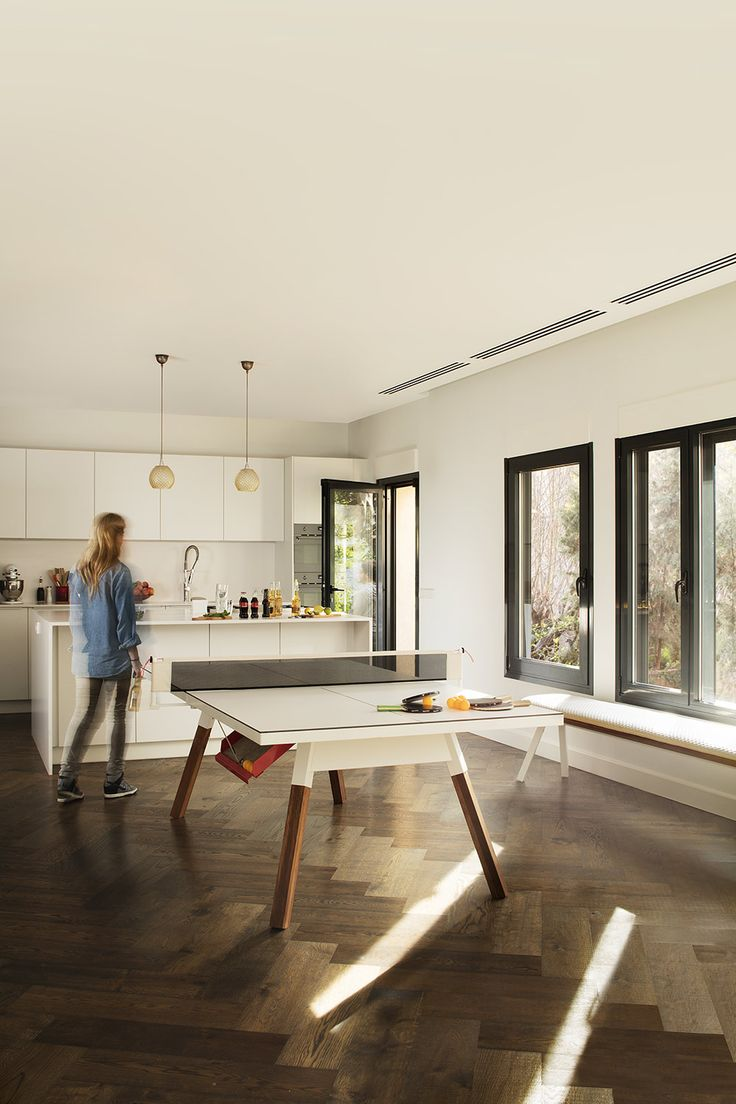 Dining Table Ping Pong Table In One On Behance Ping Pong Room