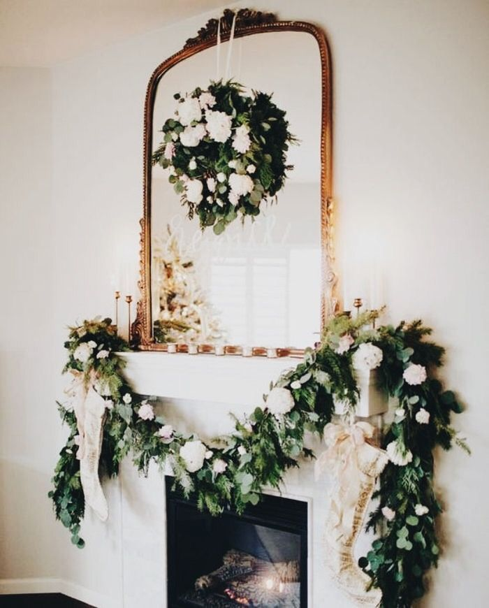gorgeous garland and wreath inspiration - theme | holidays - christmas - decoration - decor - ideas - idea - rustic - ornate - french - beautiful - simple