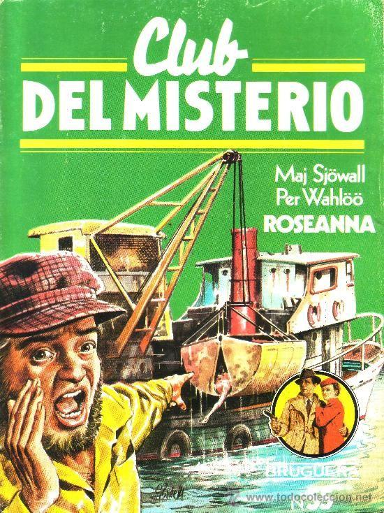 Coleccion de libros policiacos Club del Misterio editorial Burguera Espña años 80s.