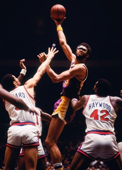 Kareem Abdul-Jabbar Los Angeles Lakers New York Knicks
