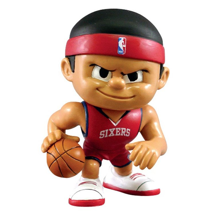 Philadelphia 76ers NBA Lil Teammates Vinyl Playmaker Sports Figure (2 3/4 Tall)