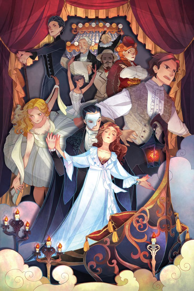 Phantom of the Opera by onisakiakika on DeviantArt #artwork…