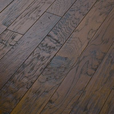"""Shaw Floors Epic Pebble Hill 3-1/4"""" Engineered Hickory Flooring in Warm Sunset"""
