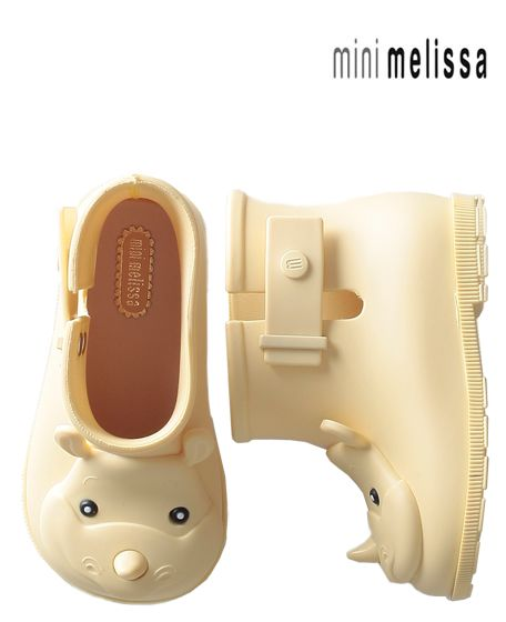 Mini Melissa Sugar Rain boots. These are kind of growing on me.