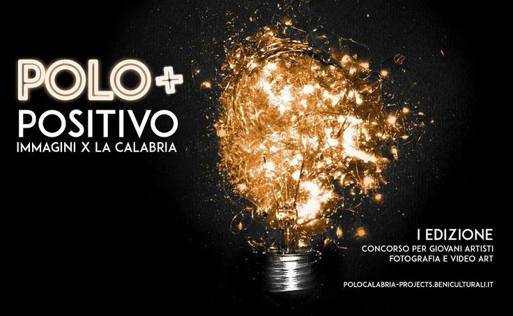 POLO POSITIVO   IMMAGINI X LA CALABRIA iscrizioni fino al 26 agosto 2017
