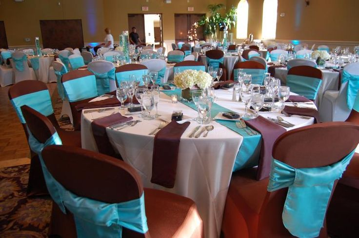 Blue And Brown Wedding Decorations Wedding Wedding