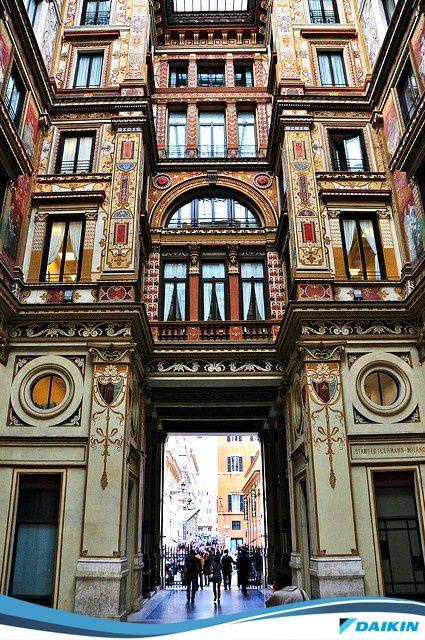 #Roma #Arquitetura #historia #arcade #DaikinValoriza