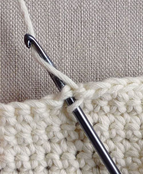 Single Crochet Decrease - Knitting Crochet Sewing Embroidery Crafts Patterns and Ideas!
