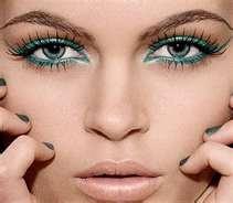 pretty makeupMakeup Trends, Cat Eyes, Colors, Teal Eyeliner, Blue Eyes, Green Eyes, Cat Eye Makeup, Eyemakeup, Eye Liner