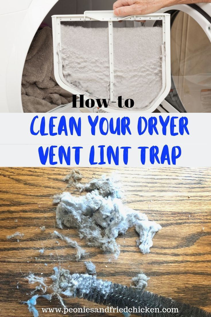 Clean your dryer vent lint trap dryer cleaning