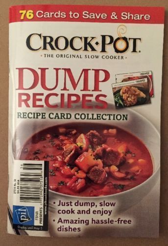 Crock Pot Dump Recipes 76 Card Collection Hassle Free Dish 2015 #56