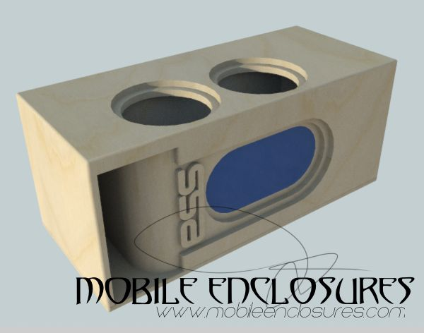 "Dual SSA 10"" Subwoofer Box"