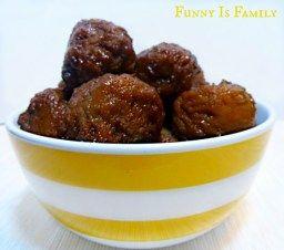 Crock Pot Grape Jelly Meatballs