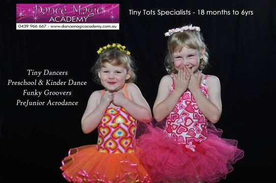 Tiny Tots Dance Program to delight and inspire your little one. Find out more at www.dancemagicacademy.com.au