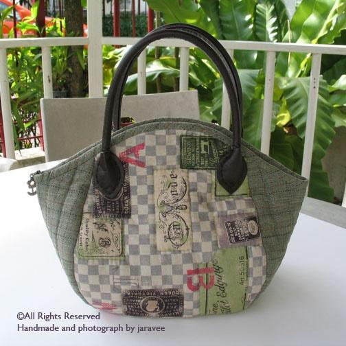 quilted handbag
