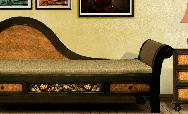 A royal teak wood dewan..! You must love this..