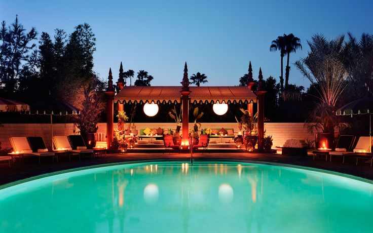 Parker Palm Springs - This is the best hotel.  Anywhere.  Ever.  Period.