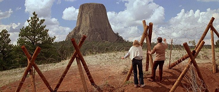 Richard Dreyfuss and Melinda Dillon in Close Encounters of the Third Kind (1977)