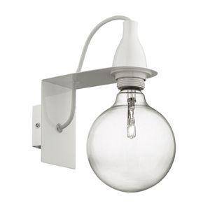 Applique murale en métal coloré ampoule Minimal