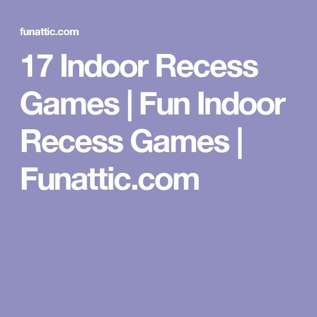 17 Indoor Recess Games   Fun Indoor Recess Games   Funattic.com