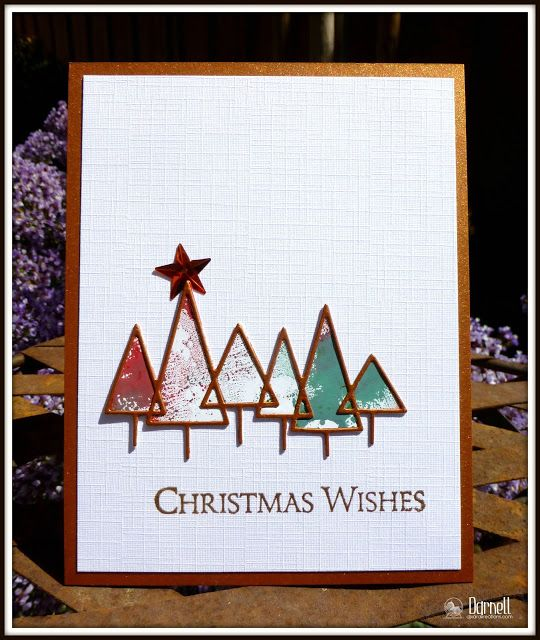 memory box pine border background cards - Google Search