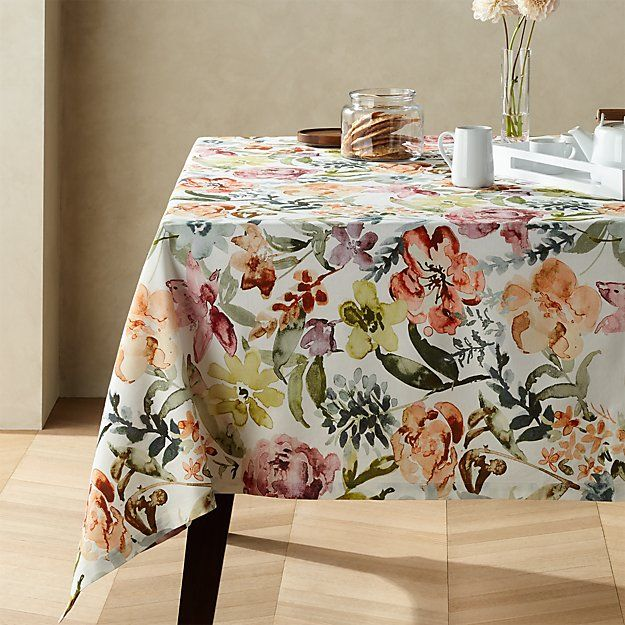 Sonder 60 X144 Printed Floral Tablecloth Reviews Crate And