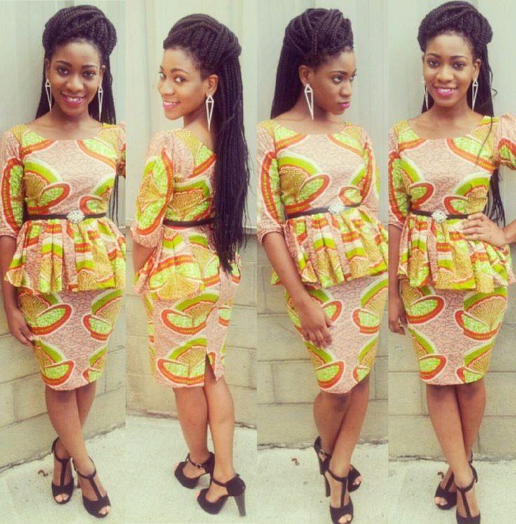 ankara african dress collection pinterest
