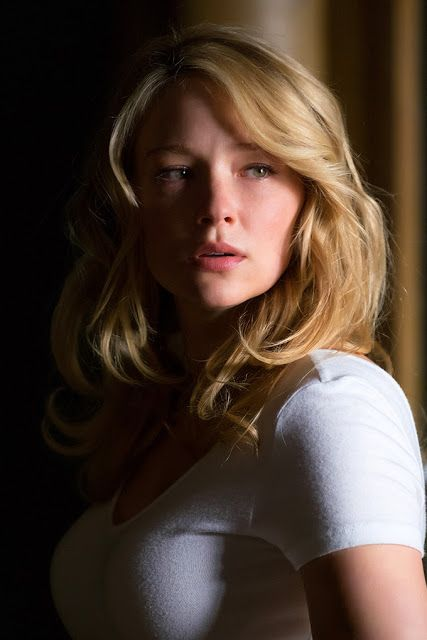 Haley Bennett plays Megan Hipwell, one half of the sexy golden couple Rachel fantasizes about from the train.