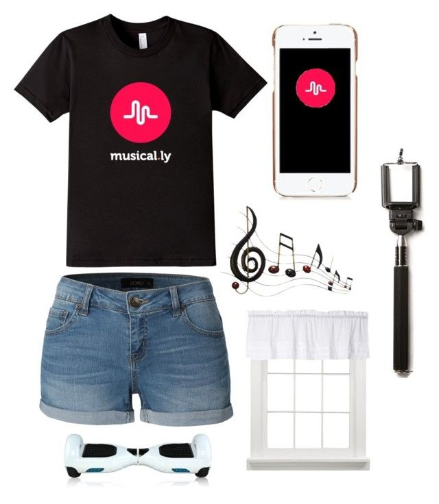 """Musical.ly Time! ;)"" by alayna0505 ❤ liked on Polyvore featuring art"