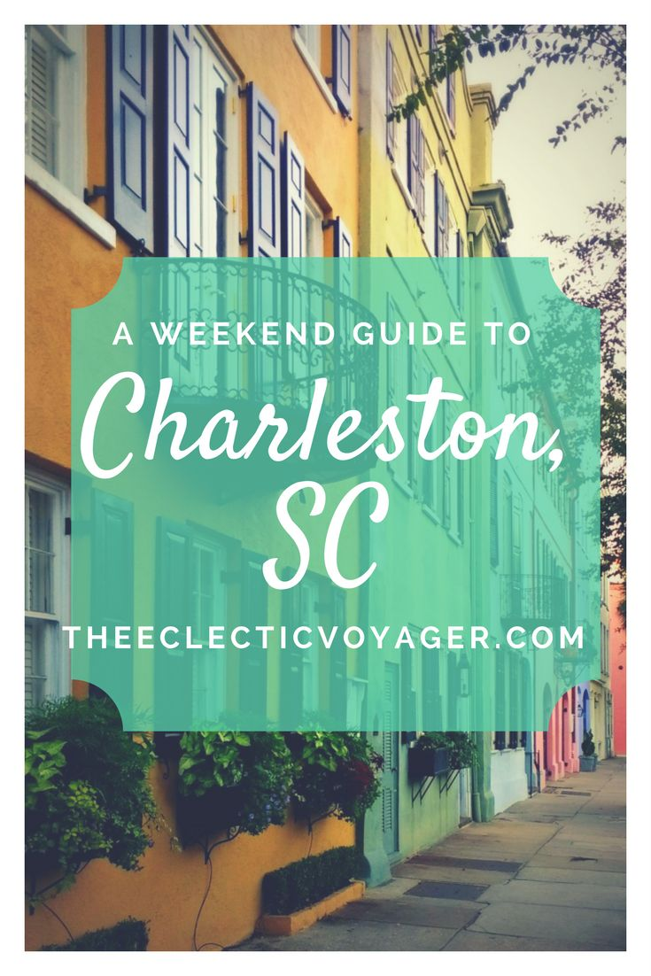 Charleston, South Carolina has been named the Best City in the World by Travel & Leisure. Here is my Weekend Guide to Charleston, South Carolina.