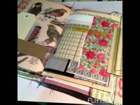 Shabby Fabric Journal Video | Melita Bloomer