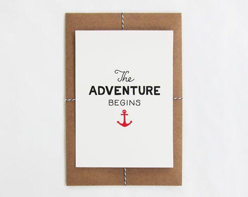 SCOUT'S HONOR Co.™ / BlogWorth Reading, Mijo Boards, New Adventure, Book Worth, Scouts Honor, Pretty Things, Invitations Ideas, Nautical Prints, Design