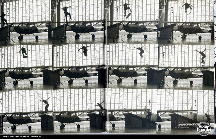 Steve Berra, Backside Flip over a plane