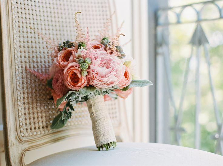 #peony, #bouquet  Photography: Birgit Hart Fotografie - birgithart.com  Read More: http://stylemepretty.com/2013/10/23/koblenz-germany-wedding-from-birgit-hart-fotografie/