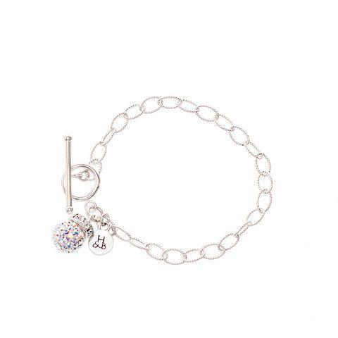 Aurora Borealis Sparkle Chain Bracelet – Hillberg & Berk